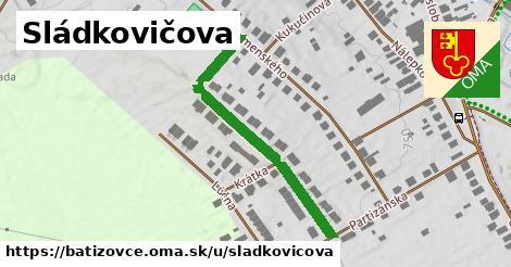 ilustrácia k Sládkovičova, Batizovce - 288m
