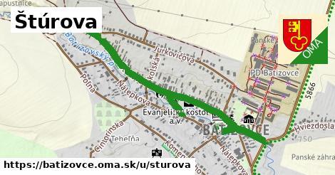 ilustrácia k Štúrova, Batizovce - 0,91km