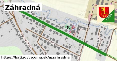 ilustračný obrázok k Záhradná, Batizovce