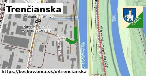ilustrácia k Trenčianska, Beckov - 142m