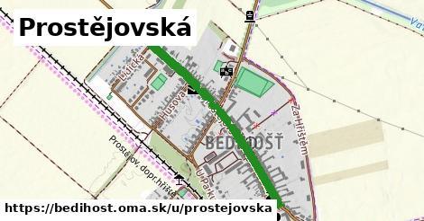 ilustrácia k Prostějovská, Bedihošť - 0,79km