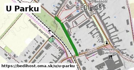ilustrácia k U Parku, Bedihošť - 245m