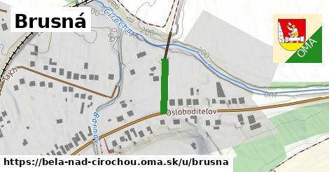 ilustračný obrázok k Brusná, Belá nad Cirochou