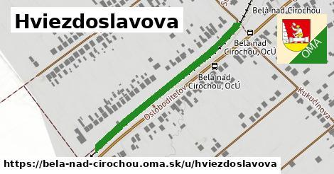 ilustrácia k Hviezdoslavova, Belá nad Cirochou - 421m