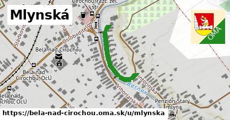 ilustrácia k Mlynská, Belá nad Cirochou - 237m