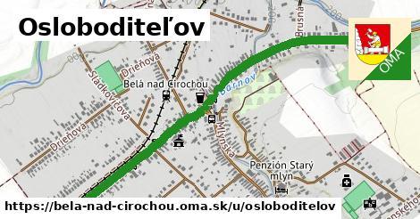 ilustrácia k Osloboditeľov, Belá nad Cirochou - 1,39km