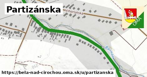 ilustračný obrázok k Partizánska, Belá nad Cirochou