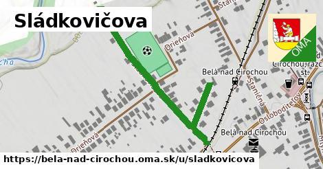 ilustračný obrázok k Sládkovičova, Belá nad Cirochou