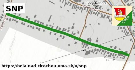 ilustrácia k SNP, Belá nad Cirochou - 0,71km