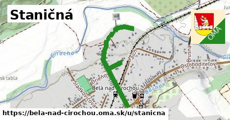 ilustračný obrázok k Staničná, Belá nad Cirochou