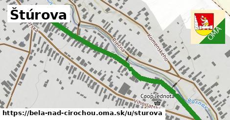 ilustrácia k Štúrová, Belá nad Cirochou - 675m