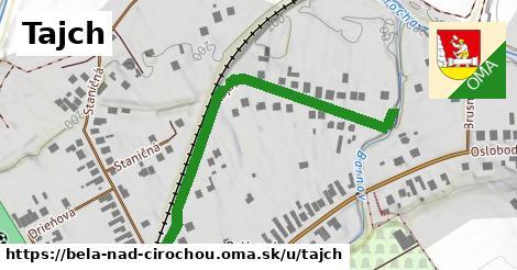 ilustračný obrázok k Tajch, Belá nad Cirochou