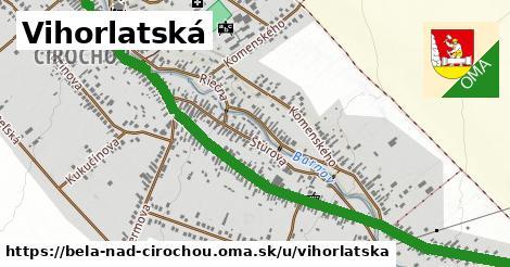 ilustrácia k Vihorlatská, Belá nad Cirochou - 1,93km