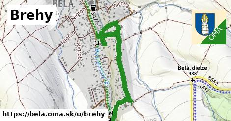 ilustrácia k Brehy, Belá - 1,06km