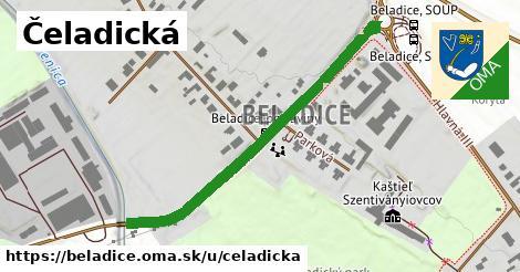 ilustračný obrázok k Čeladická, Beladice