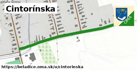 ilustrácia k Cintorínska, Beladice - 557m