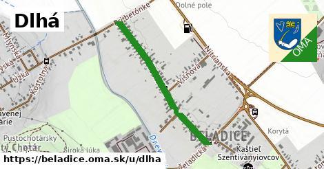 ilustrácia k Dlhá, Beladice - 0,71km