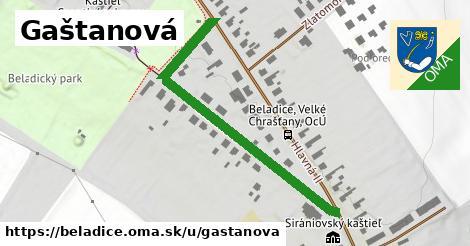 ilustrácia k Gaštanová, Beladice - 502m