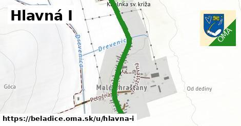 ilustrácia k Hlavná I, Beladice - 628m