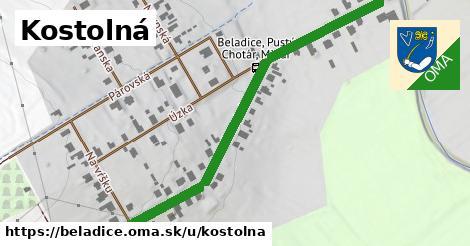 ilustrácia k Kostolná, Beladice - 1,06km