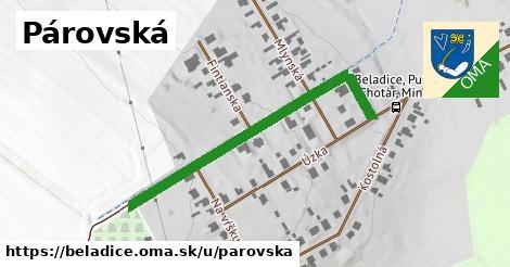 ilustrácia k Párovská, Beladice - 501m