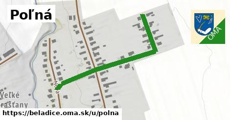 ilustrácia k Poľná, Beladice - 573m