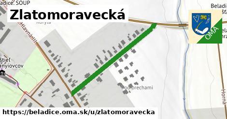 ilustrácia k Zlatomoravecká, Beladice - 361m
