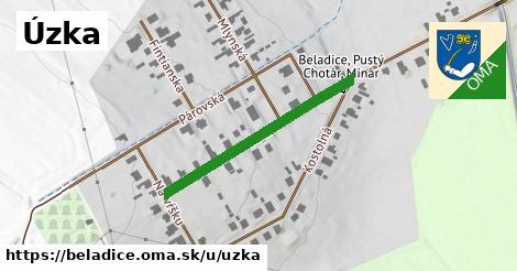 ilustrácia k Úzka, Beladice - 319m
