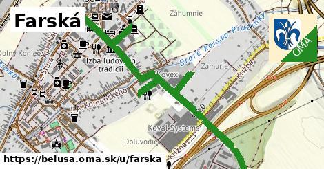 ilustrácia k Farská, Beluša - 1,43km