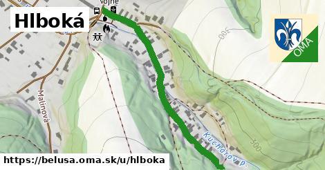 ilustrácia k Hlboká, Beluša - 474m