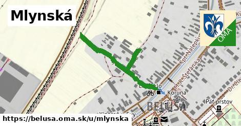 ilustrácia k Mlynská, Beluša - 295m