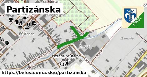 ilustrácia k Partizánska, Beluša - 568m