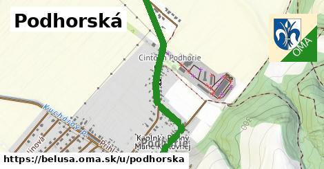 ilustrácia k Podhorská, Beluša - 651m