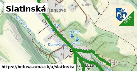 ilustrácia k Slatinská, Beluša - 541m