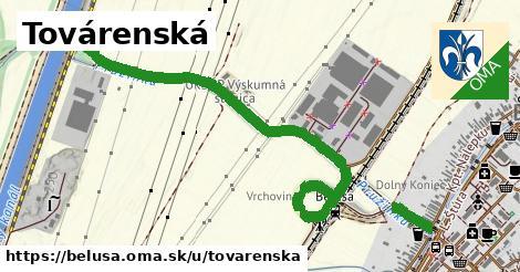 ilustrácia k Továrenská, Beluša - 1,42km