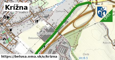 ilustrácia k Krížna, Beluša - 1,20km