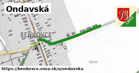 ilustrácia k Ondavská, Benkovce - 344m