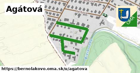 ilustrácia k Agátová, Bernolákovo - 558m