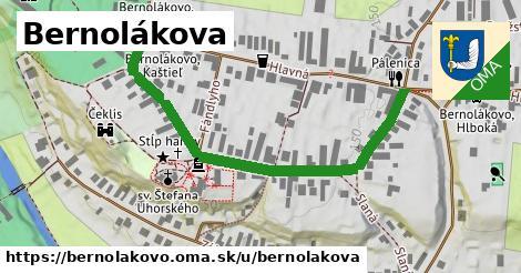 ilustrácia k Bernolákova, Bernolákovo - 586m