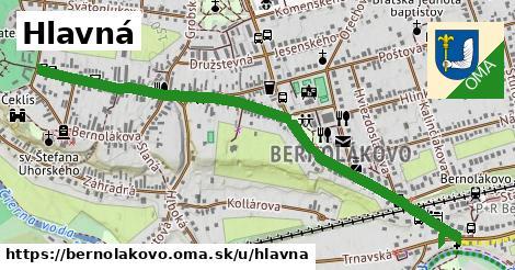 ilustračný obrázok k Hlavná, Bernolákovo