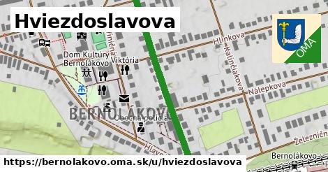 ilustrácia k Hviezdoslavova, Bernolákovo - 409m