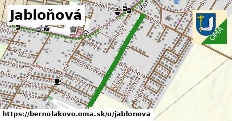 ilustrácia k Jabloňová, Bernolákovo - 0,70km
