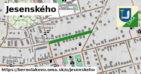 ilustrácia k Jesenského, Bernolákovo - 237m