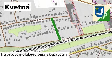 ilustrácia k Kvetná, Bernolákovo - 164m