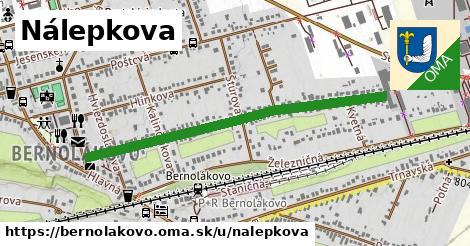 ilustrácia k Nálepkova, Bernolákovo - 0,98km