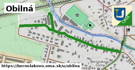 ilustrácia k Obilná, Bernolákovo - 688m