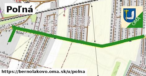 ilustrácia k Poľná, Bernolákovo - 267m