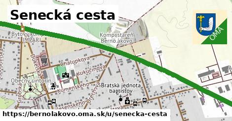 ilustrácia k Senecká cesta, Bernolákovo - 3,0km