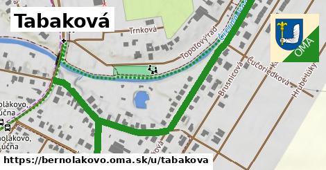 ilustrácia k Tabaková, Bernolákovo - 0,88km