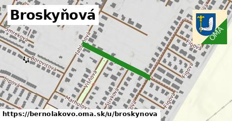 ilustrácia k Broskyňová, Bernolákovo - 241m